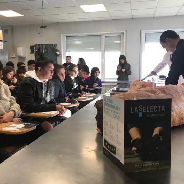 La Selecta participa en las jornadas gastronómicas de la Escola de Hostaleria de Osona